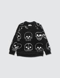 NUNUNU Skull Robot Sweatshirt Picture