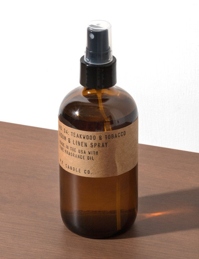 P.F. Candle Co. Teakwood & Tobacco Room & Linen Spray N/a Unisex