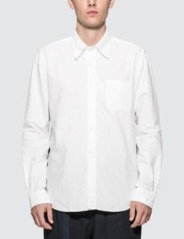 SOPHNET. Back Panel BD Shirt