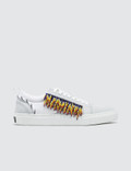 MSGM Lace Up Sneaker with Fringe Picture