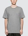 Maison Kitsune Tricolor Fox Patch S/S T-Shirt Picture