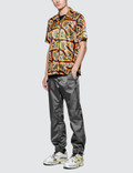 SSS World Corp Hawaiian S/S Shirt Black Sc2 Men