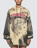 R13 Exploited Punk Oversized Hoodie Picture