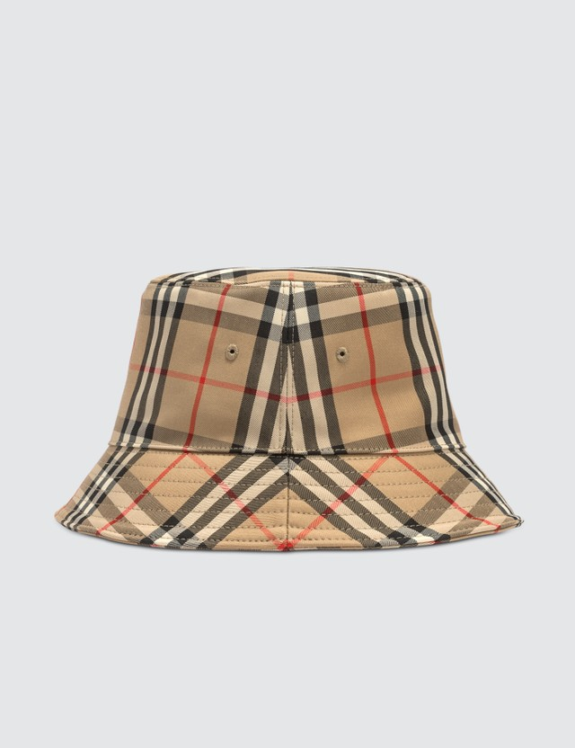Burberry Check Bucket Hat