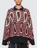 JW Anderson Paisley Long Sleeve Merino Jumper Picture