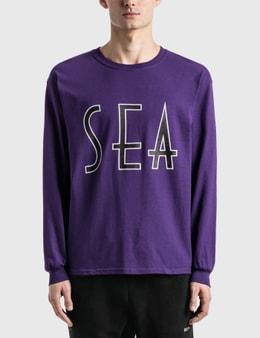 Wind And Sea Sea (Wavy) Long Sleeve T-Shirt
