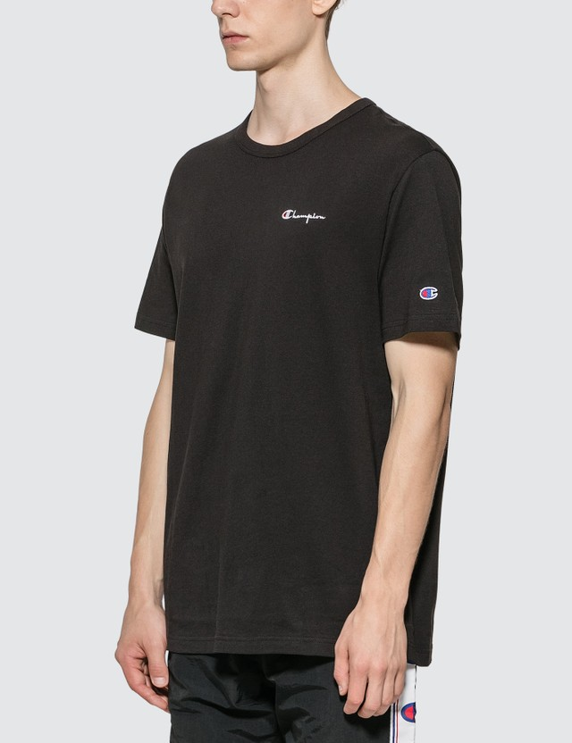 Champion Reverse Weave Small Script Crewneck T-shirt
