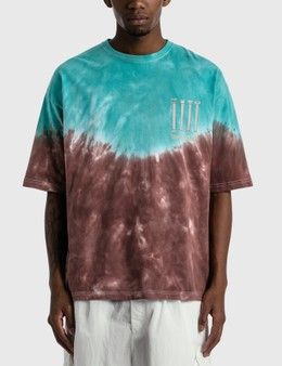 Children of the Discordance Hand Dyed And Print T-shirt