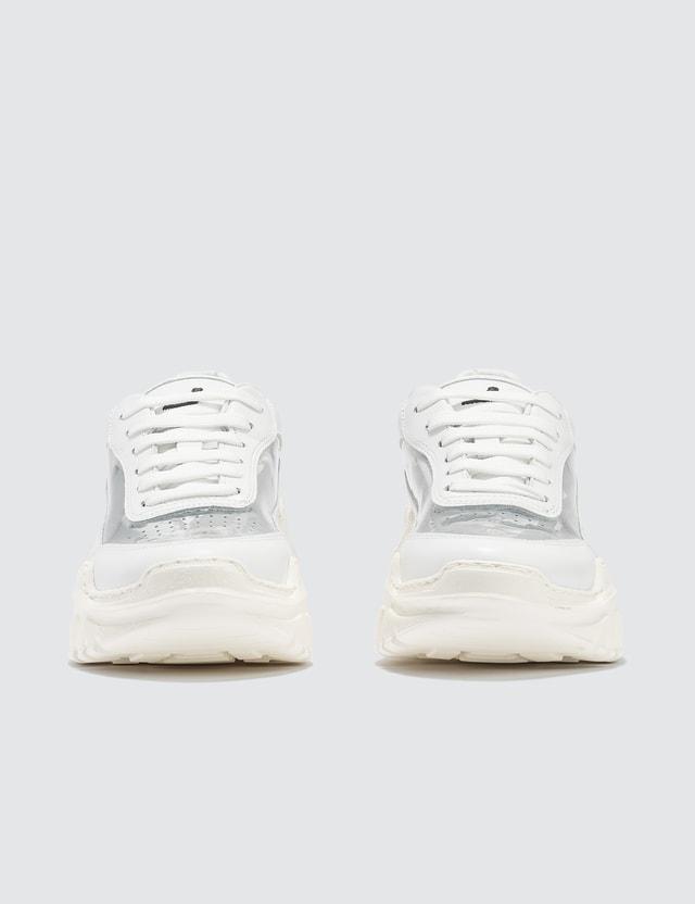 Joshua Sanders Zenith White PVC Sneakers