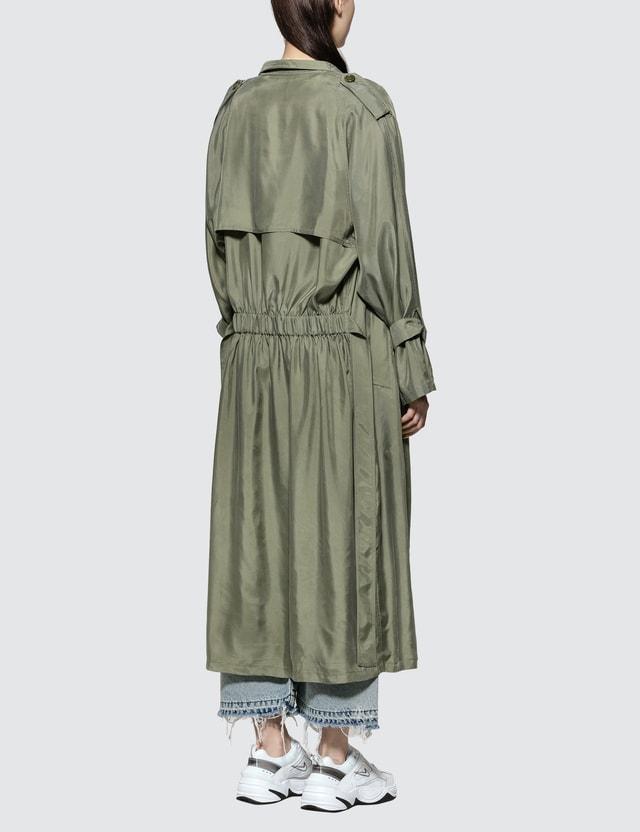 John Elliott Scarlett Trench Coat