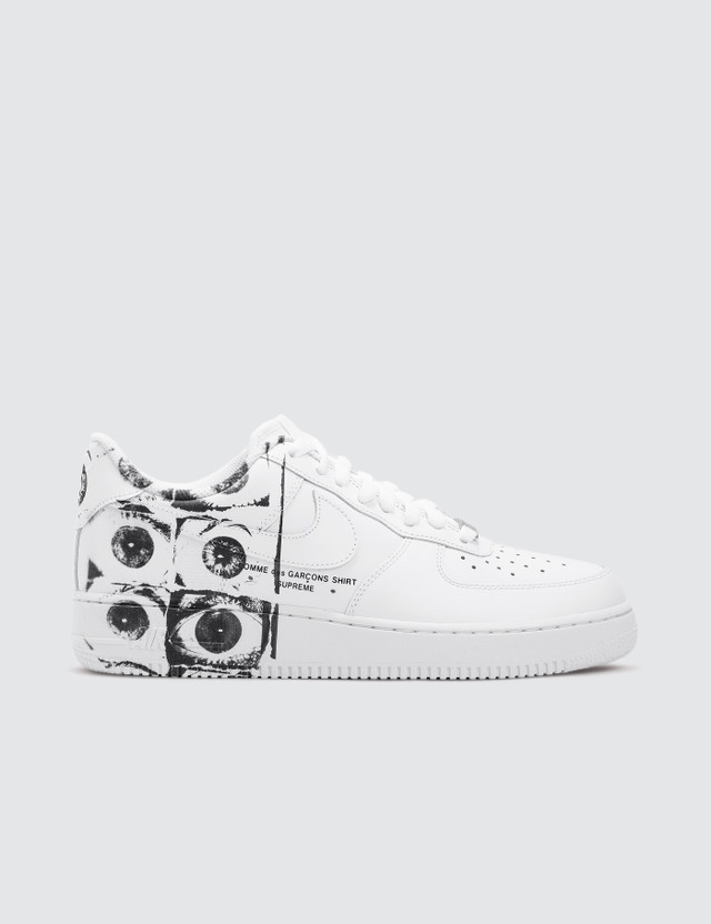 sports shoes 29346 a0cc0 Supreme X Comme des Garçons Shirt X Nike Air Force 1 Low