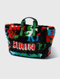 Kirin Big Typo Fur Jacquard Airport Bag Picutre