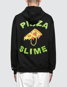 Pizzaslime Gang Logo Color Hoodie