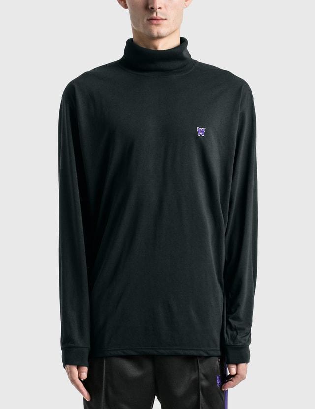 Needles Poly Jersey LS Turtle Neck T-shirt =e39 Men
