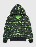 BAPE Bape Hoodie Green Camo Picutre