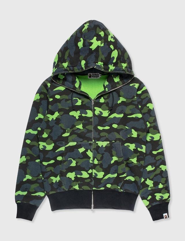 BAPE Bape Hoodie Green Camo Green Archives