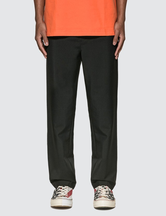 Acne Studios Cropped Wool Blend Trousers