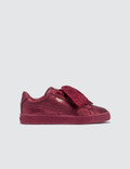 Puma Basket Heart Holiday Glamour Pre-School