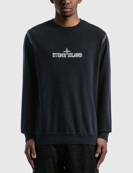 스톤 아일랜드 Stone Island Embroidered Logo Sweatshirt
