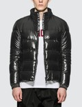 Moncler Nylon Down Jacket with Zip Detail Picture
