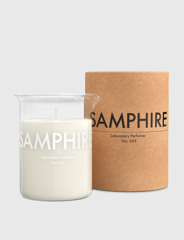 Laboratory Perfumes Samphire Scented Candle White Men