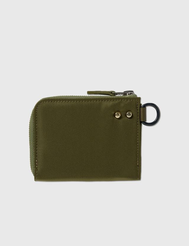 Sacai Sacai x Porter Nylon Wallet Khaki Men