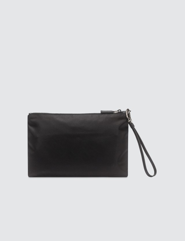Prada Multi Zip Medium Pouch