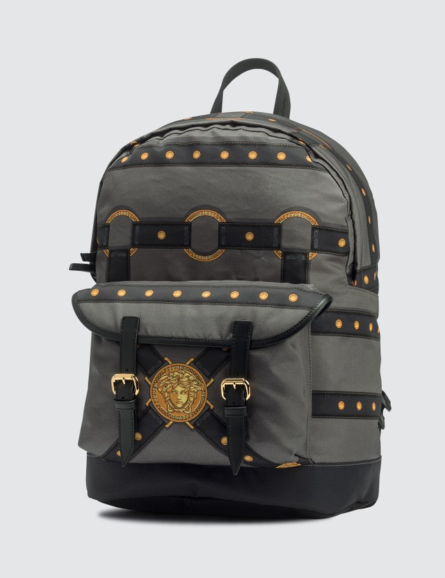 Versace Harness Print Backpack