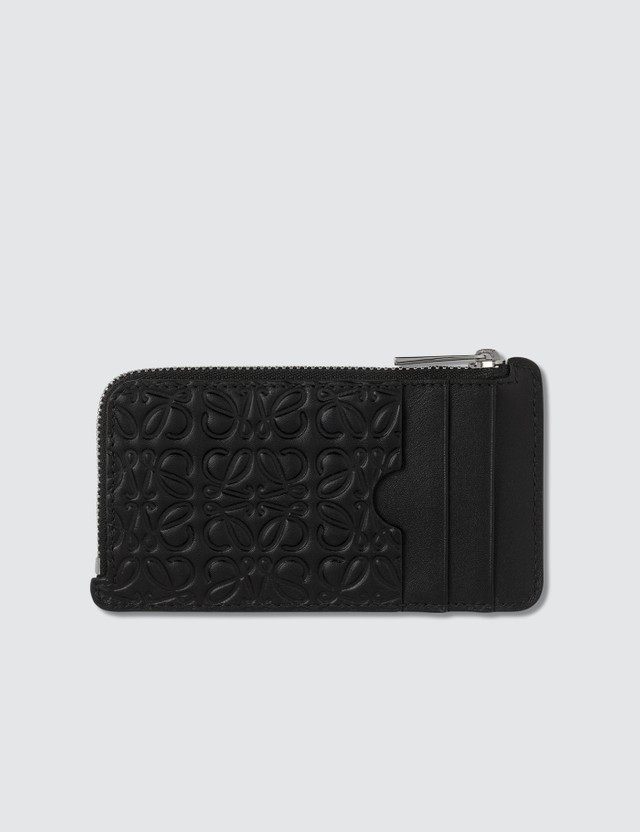 Loewe Embossed Logo Coin Card Holder