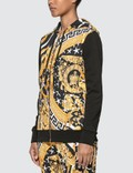 Versace Savage Barocco Zip Hoodie Black Women