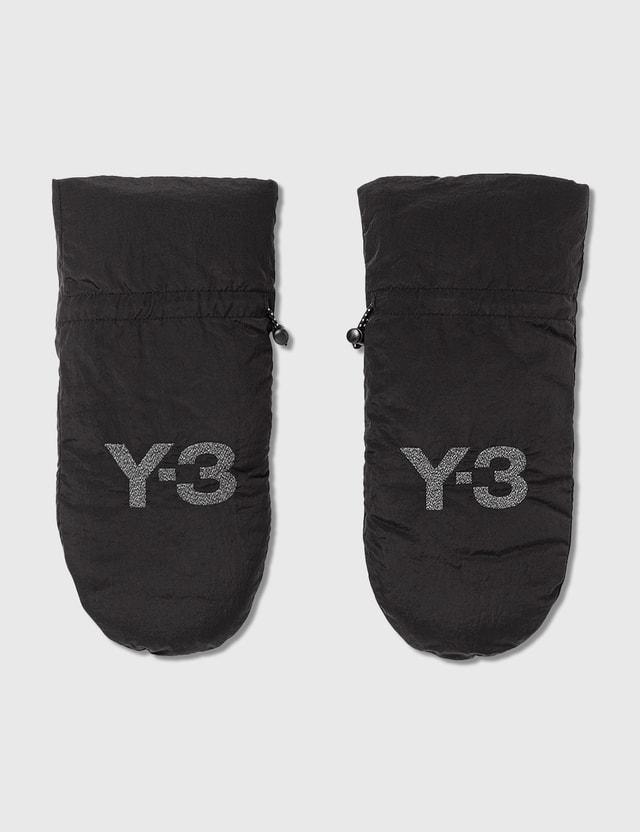 Y-3 CH3 Mitten Gloves Black Men