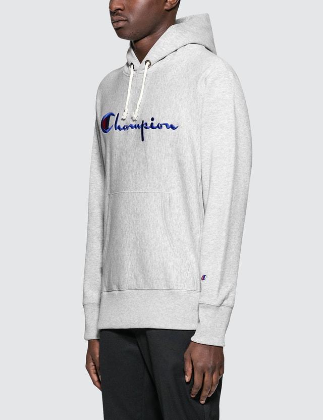 Champion Reverse Weave Script Logo Hoodie