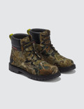 Heron Preston Camo Leaf Cleated Ankle Boots