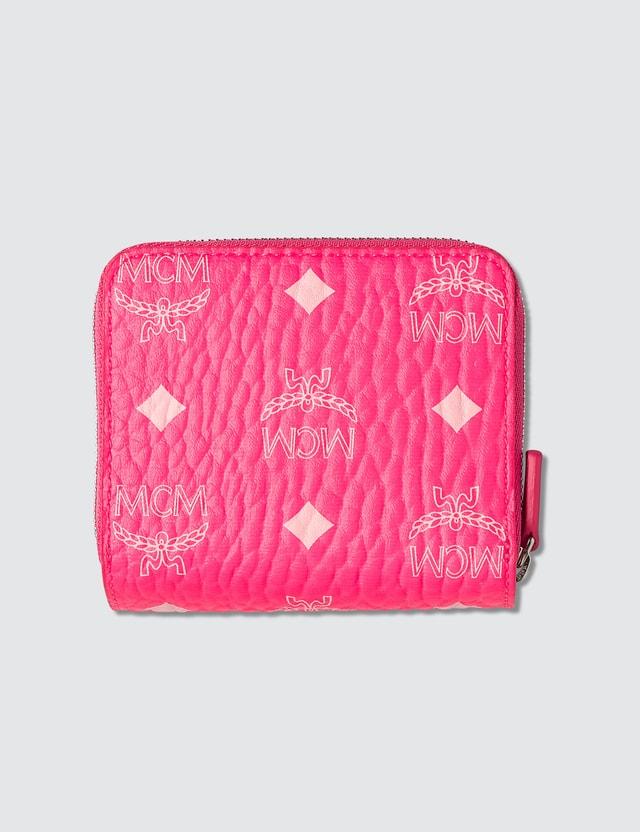 MCM Zip Wallet in Visetos