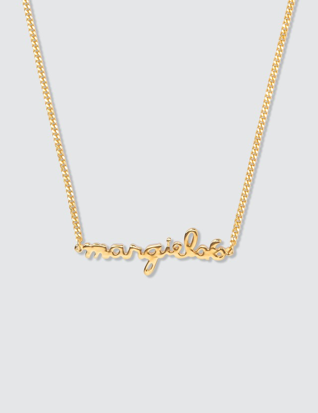 MM6 Maison Margiela Logo Necklace