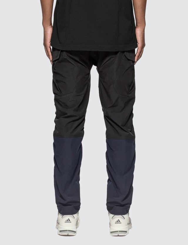 White Mountaineering Stretched Shirring Cargo Pants Black Men