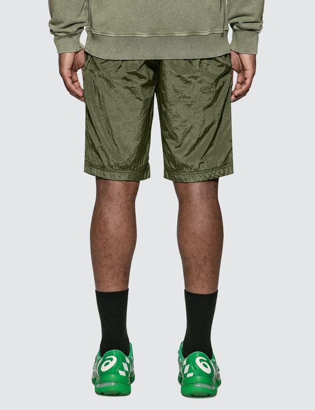 Stone Island Nylon Metal Ripstop Bermuda Shorts