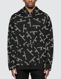 Mastermind World Allover Logo Print Hoodie Picture