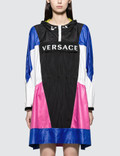 Versace Nylon Color Block Logo Capospalla Parka Picture