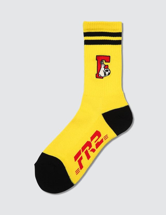 #FR2 Fxxking Rabbits Football Socks