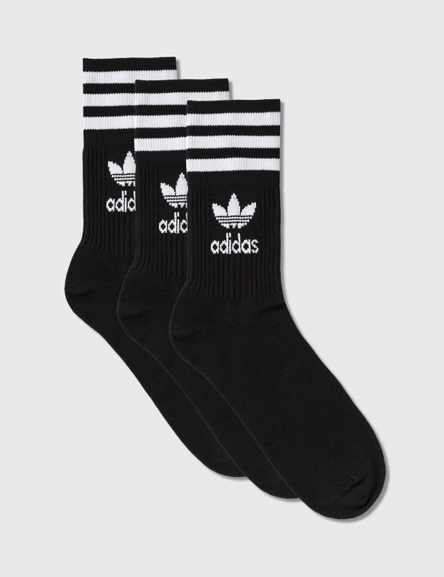 Adidas Originals Mid Cut Crew Socks 3 Pairs