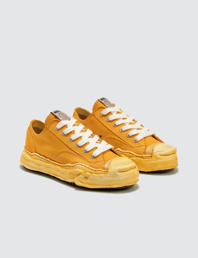 Maison Mihara Yasuhiro Original Sole Toe Cap Low Over Dyed Sneaker