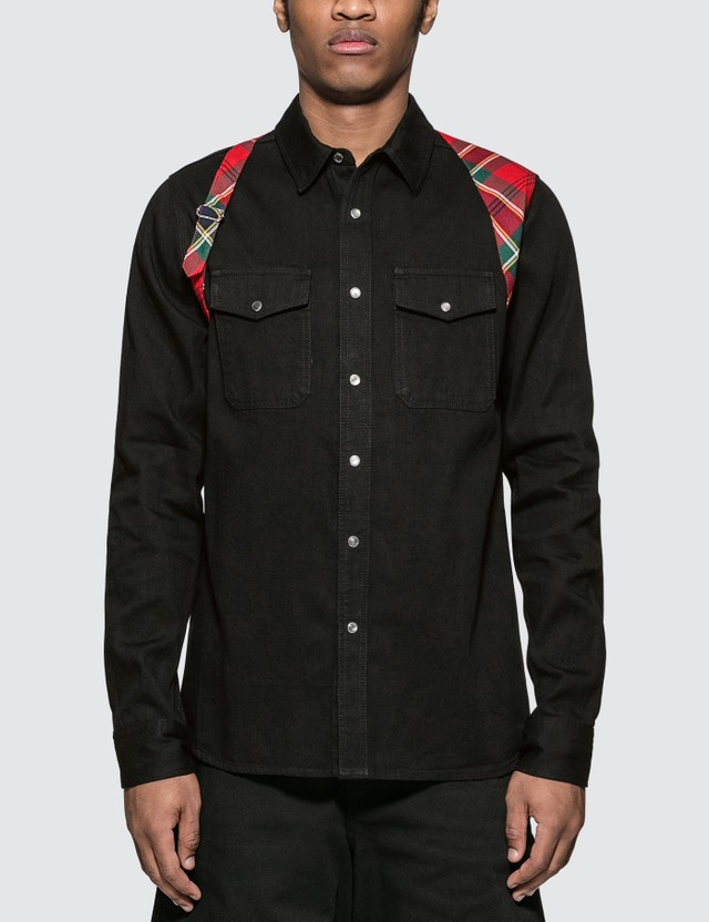 Alexander McQueen Harness Denim Shirt
