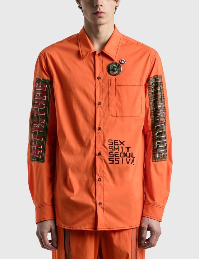 """99%IS- """"4S"""" Shirt Orange Men"""