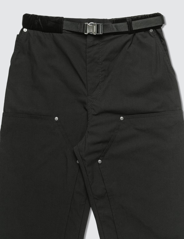 Sacai Oxford Pants Black Men