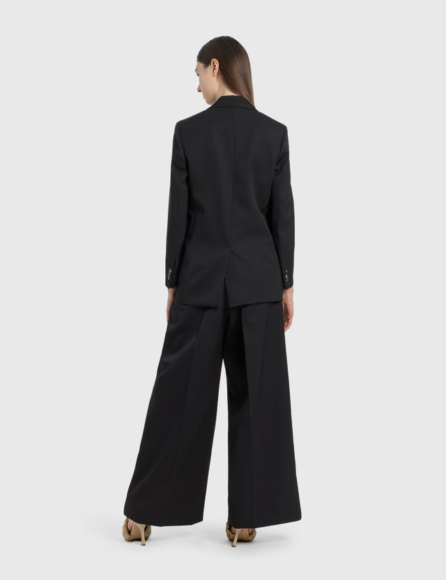 Bottega Veneta Wide Leg Pants Black Women