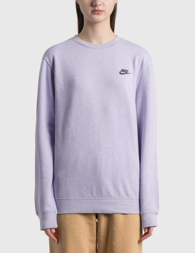 Nike Nike Sportswear Classic Pullover Purple Chalk/dk Smoke Grey Women
