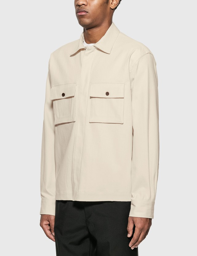 Maison Kitsune Hidden Placket Shirt
