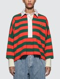 Loewe Stripe Long Sleeve Polo Picture