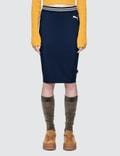 Fenty Puma By Rihanna Fenty By Rihanna Varsity Pencil Skirt Picture